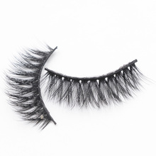 3D Faux Fiber Hair Soft False Eyelashes Reusable Natural Eyelashes Fluffy Wispy Thick Lashes Handmade Soft Eye Makeup Extension exaggerated eye tail lengthening thick reusable false eyelashes