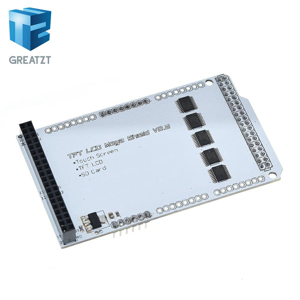 TFT 3.2/'/' 4.3/'/' 5.0/'/' 7.0/'/' Mega touch LCD Shield Expansion board for Arduino