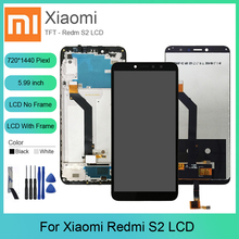For XiaoMi redmi s2 LCD Display+Touch Screen With Frame Digitizer  Assembly Replacement For Xiaomi redmi s2 lcd Original Screen недорого