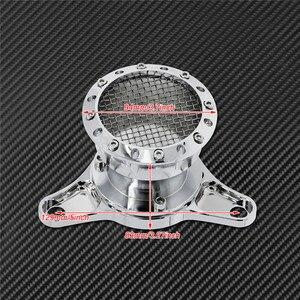 Image 5 - Motorrad CNC Geschwindigkeit Stapel Luft Reiniger Intake Filter Chrom Aluminium Passend Für Harley Sportster Eisen XL883 XL1200 Benutzerdefinierte