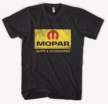 Piezas y accesorios MOPAR-camiseta negra todas las tallas