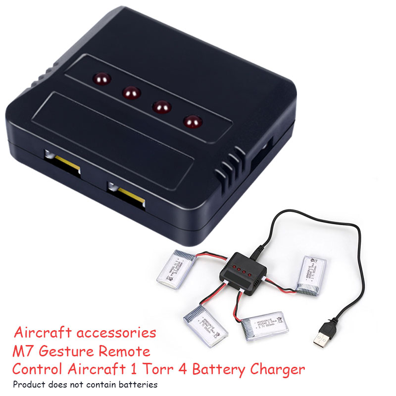 4 In 1 Drone Charger Battery Battery Charging Hub Fast Charging Portable Smart Battery Intelligent Charging Drone Accessories