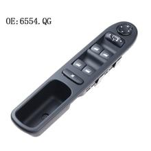 цена на YAOPEI OEM 6554.QG Electric Power Master Window Switch Regulator Fits For Peugeot 207 Citroen 6554.QF 96642444XT