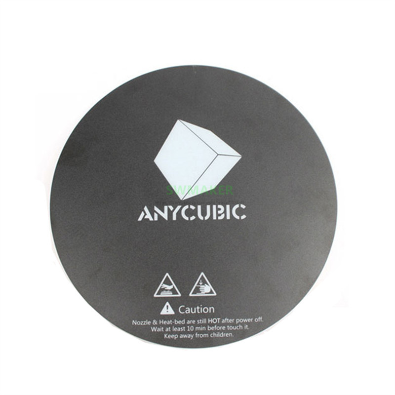 5pcs Diameter 200mm 240mm Matte printing sticker for DIY ANYCUBIC Pulley Linear Plus   Kossel 3D Printer