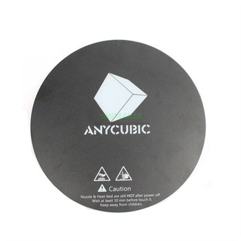 5pcs Diameter 200mm 240mm Matte printing sticker for DIY ANYCUBIC Pulley/Linear Plus / Kossel 3D Printer