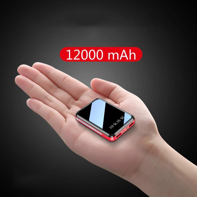 464.39руб. 70% СКИДКА|Мини банк питания 12000 мАч USB зарядка портативное зарядное устройство Внешний аккумулятор для Xiaomi mi 8 iPhone 11 pro Samsung S8 повербанк|Внешние аккумуляторы| |  - AliExpress