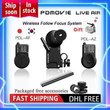 PDMOVIE LIVE AIR PDL AF и PDL AZ Bluetooth Беспроводная система непрерывного изменения фокусировки для DSLR купить живой воздух получить Риг Свободный воздух VS TILTA