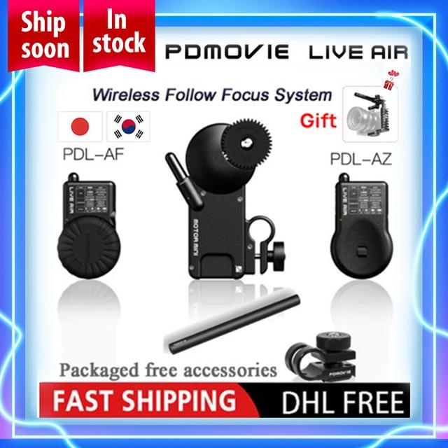 PDMOVIE canlı hava PDL AF ve PDL AZ Bluetooth kablosuz takip odak sistemi DSLR satın canlı hava olsun kulesi hava ücretsiz VS TILTA