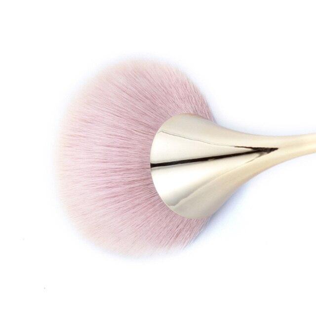 Foundation Brush Makeup Brushes Set Professional Cosmetics Powder Brushes Eye Shadow Lip Brushes Set Face Beauty Makeup Tool 2
