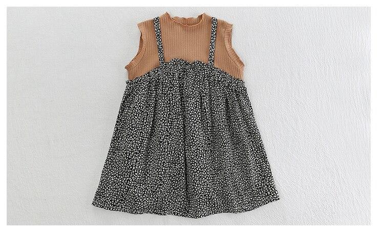 vestido crianças a linha roupas vestido menina