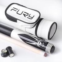 Fury ZF series Billiard Pool Cue Stick 13mm Tip maple shaft center joint Stick Billiards Cue Kit Nine Ball Black 8 Professional