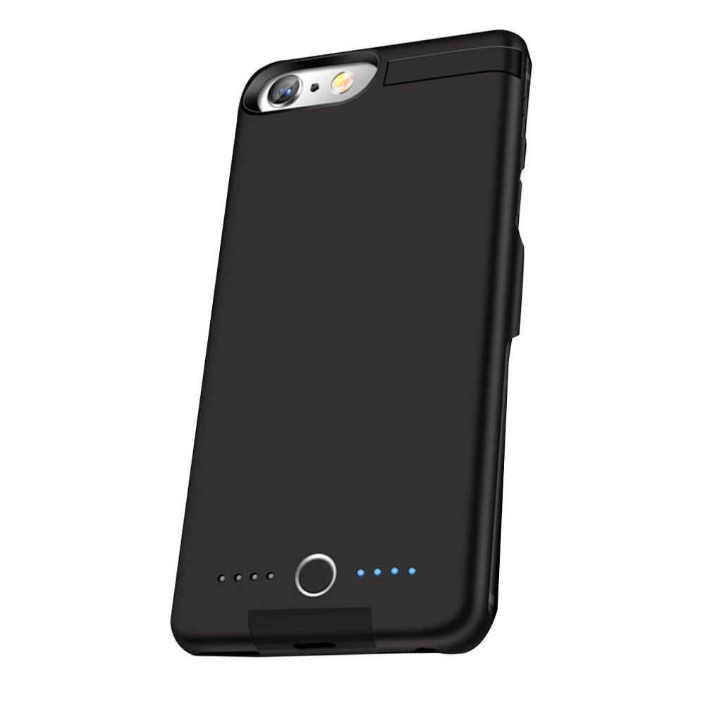 5000mAh Power Bank Case Charging For IPhone 6 / 6S / 7/8 Battery Case Charger Case Power Bank Charger Case Mobile Phone