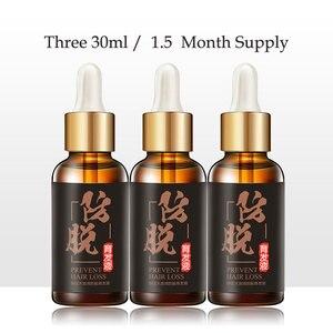 3pcs Hair Growth Oil Anti Hair Loss Treatment Beard Oil Repairs Damage Hair Root Hair Tonic Growth Hair Topical Solutions