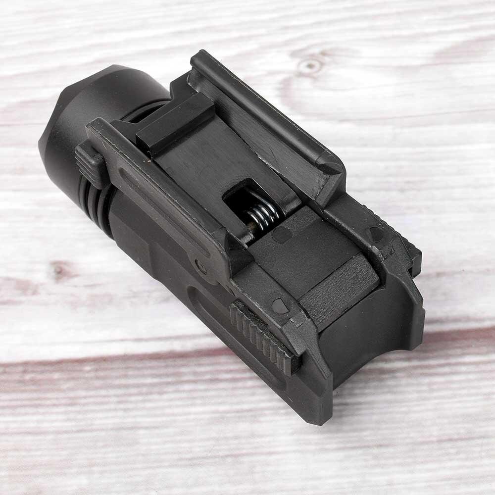 Red Dot Laser Sight Tactical Airsoft Handgun Flashlight Combo LED Tactical Gun Torch for 20mm Rail Glock 17 19 18C 24 P226-3