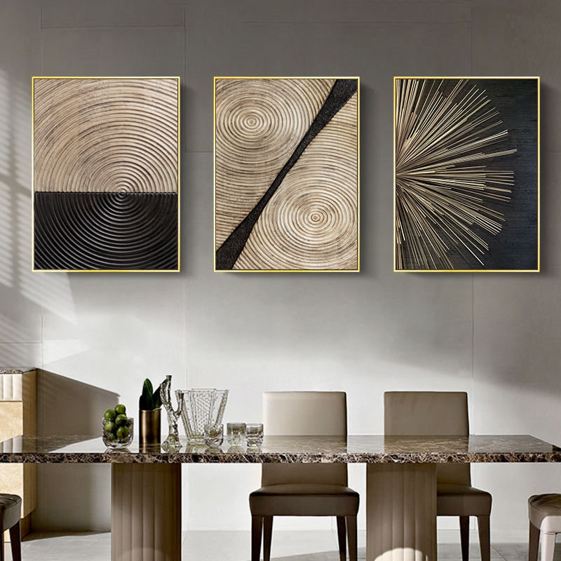 Abstract Retro Poster Home Decor Picture Nordic Canvas Painting Wall Art Luxury Minimalist Art Poster And Print For Living Room