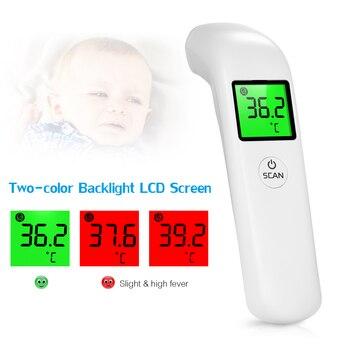 Termometer Inframerah Termometer Dahi Non Kontak Termometer LCD Display Tinggi Precision Handheld Suhu Meter 2020 1