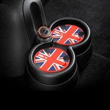 Almohadilla antideslizante de Gel de sílice para taza de coche, posavasos para Mini Cooper One S Clubman Countryman R55 R56 R60 R61 R50 R53 F56 F54 F55 F60