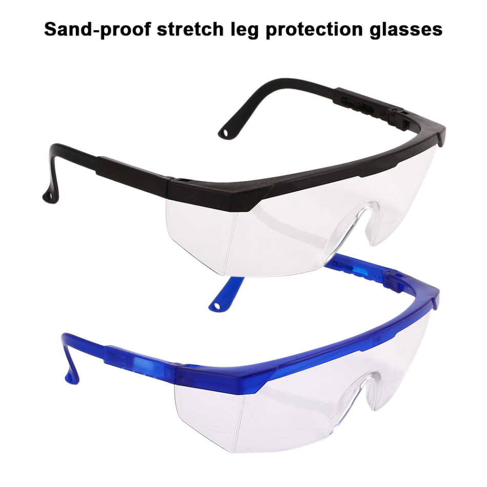1Pcs Anti-Fog Windproof Glasses Work Safety Glasses Protective Goggles Adjustable Bicycle Cycling Goggles Outdoor Sports Eyewear