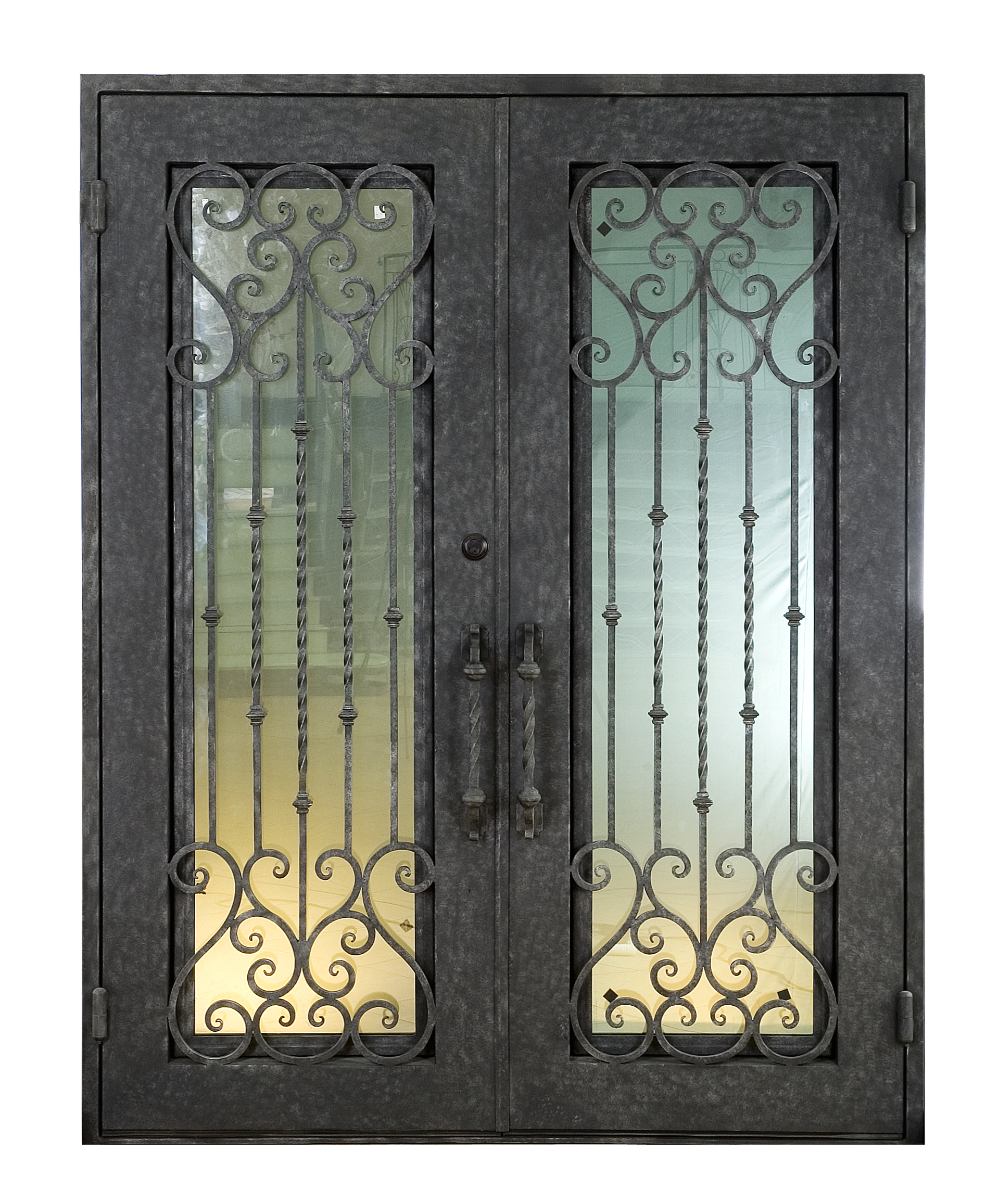 Shanghai Hench Brand China Factory 100% Custom Made Sale Australia Iron Entry Doors Near Me