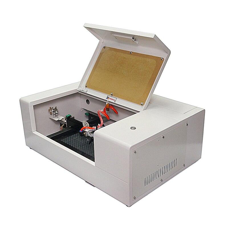 LY smart mini mobile fibre verre trempé film protecteur d'écran co2 laser découpeuse 30W 220V 110V mise à jour gratuite programmes - 4