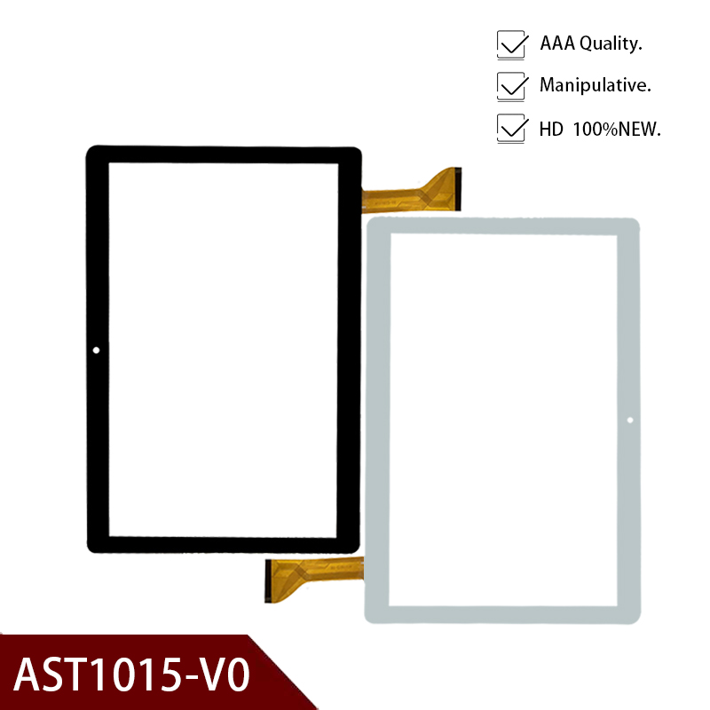 """New 10.1"""" Inch Tablet PC Repairment AST1015-V0 MID Touch Screen Touch Panel Sensor For Sunstech Touch Digitizer Free Shipping"""
