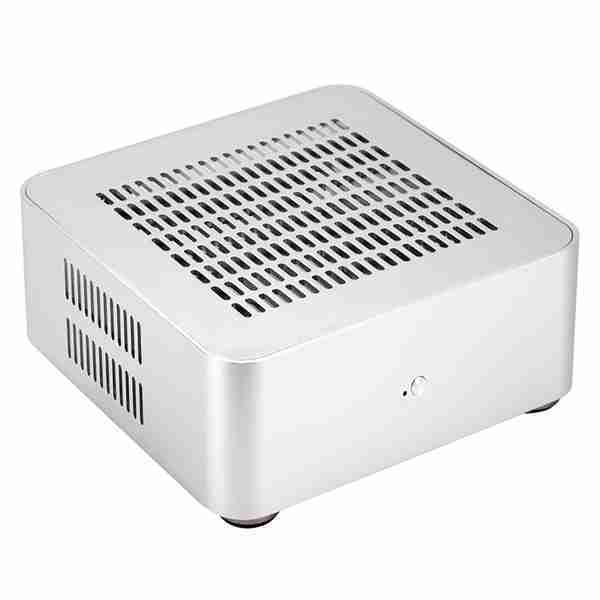 L80S Computer Cases Aluminum Chassis Desktop Mainframe with Usb 3.0 Port Hollow for Game Chassis Diy Mini Pc Itx Case(China)
