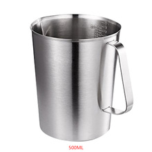 304 Thick Stainless Steel Measuring Cup Scale Milk Tea Mug Kitchen Baking Measurement Tools