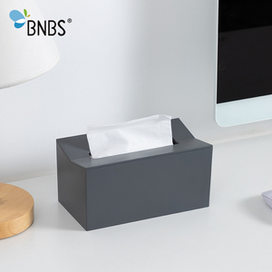 Image 4 - BNBS Kitchen tissue box Cover Napkin Holder For Paper Towels Boxes For Napkins Tissue Dispenser Wall Mounted Container For Paper