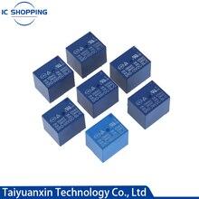 5Pcs Power Relay SRD-12VDC-SL-C SRD-03 05 06 09 12 24 12VDC-SL-C -SL-A 4Pin 5Pin 10A 3V 5V 9V 6V 24V 12V Relé de Alta Qualidade