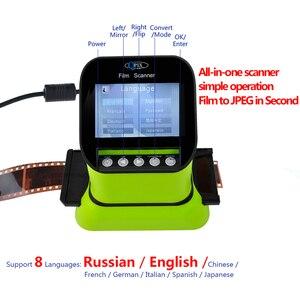 """Image 3 - High Resolution 22 Mega pixels 120 Slide Film Scanner 35mm Negative Photo Scanner Digital 135 126KPK Film Converter 4.3""""LCD"""