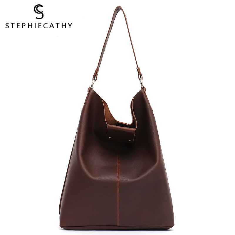 SC Large Italian Genuine Leather Big Bag Women Luxury Designer Vintage Girl Hobo Real Cow Leather Messenger Bag Ladies Handbags