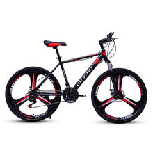 Bicycle Mountain Bike 24/27/30 Speed Mechanical Double Disc Brakes Adult Variabl