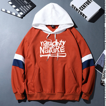 Naughty By Nature Old School Hip Hop Rap Skateboardinger Music Band 90s unisex hoodies Cotton men women sweatshirts pullovers