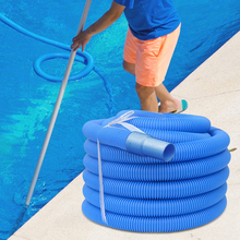 6.3M Pipe Drawing Water Pipes Swimming Pool Hose Chlorine Water Resistant for Filter Pump System Home Bath Replacement Pool Hose