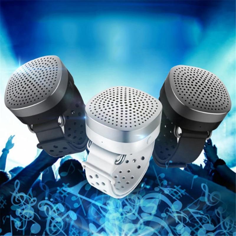 ABKT-Съемный динамик Bluetooth, Часы Bluetooth, динамик, браслет, аудио, наружная аудиокоробка