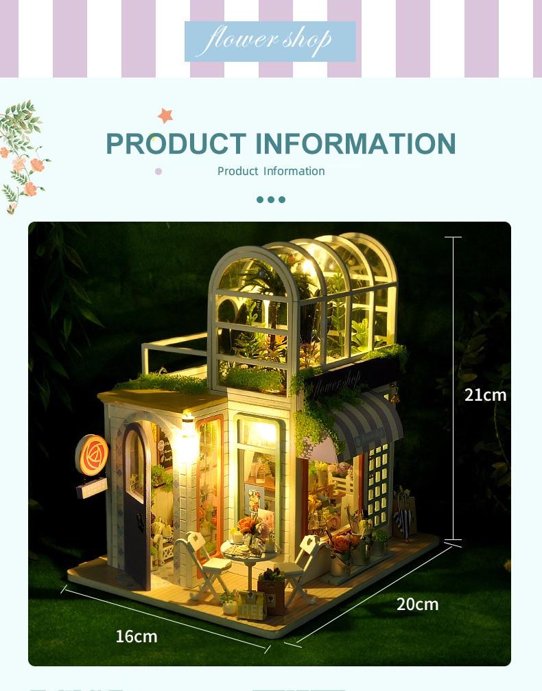 H59f7d92402384df6b1d3df98393faa91t - Robotime - DIY Models, DIY Miniature Houses, 3d Wooden Puzzle