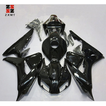 ZXMT Motorcycles Glossy Black Fairing Body Work Kit Fit For Suzuki GSX-R600/750 2008-2010 K8 2009 ABS Injection injection mold fairing kit for suzuki gsxr1000 09 10 gsx r gsxr 1000 k9 2009 2010 hot red white abs fairings set 7gifts sz16