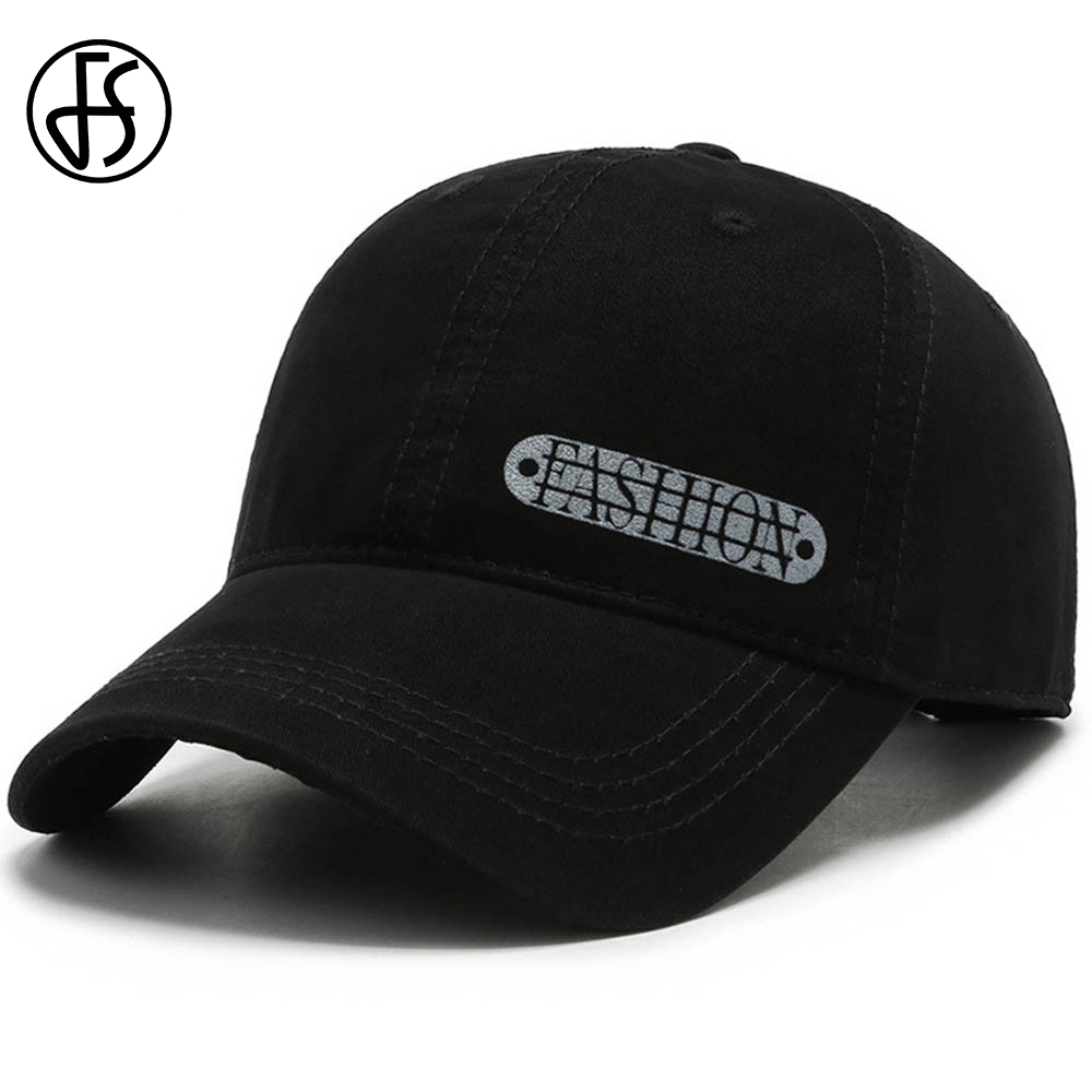 FS Brand Baseball Cap Adjustable Casual Women Summer Hat Black Army Green Snapback Trucker Caps For Men Letter Print Gorras