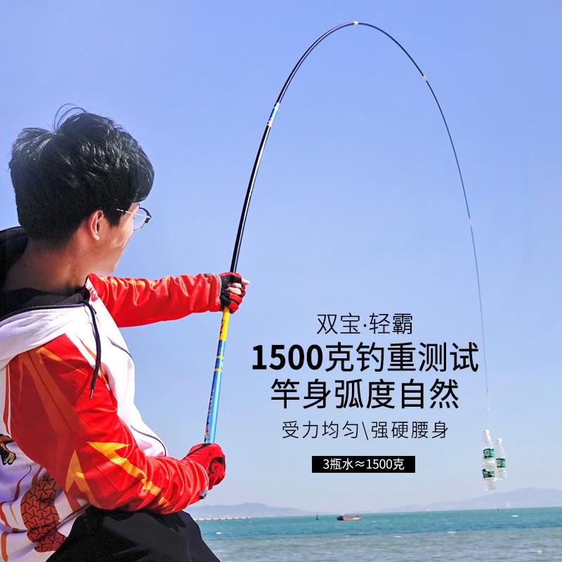 vara de pesca telescopica carbono 36 03