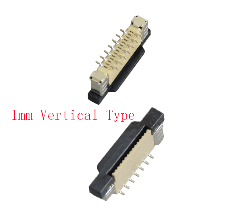 460pcs FFC FPC socket 1mm Kits each size 20pcs 4/6/7/8/9/10/12 to 30 Pin Vertical Type Ribbon Flat Connector|Connectors| |  - title=