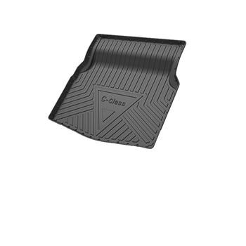 1Set Car Cargo rear trunk mat For Mercedes C-class W205 Without net pocket 2015 2016 2017 2018 Styling Anti-slip Mat accessories