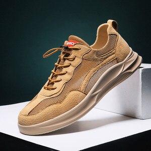 Image 3 - Hommes chaussures décontractées confortable mode vulcaniser chaussures automne respirant baskets hommes loisirs de plein air chaussures Zapatillas Hombre