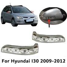 Левая и правая автомобильная лампа для бокового зеркала заднего вида, Светодиодные поворотники, боковое крыло, индикатор заднего хода для ...