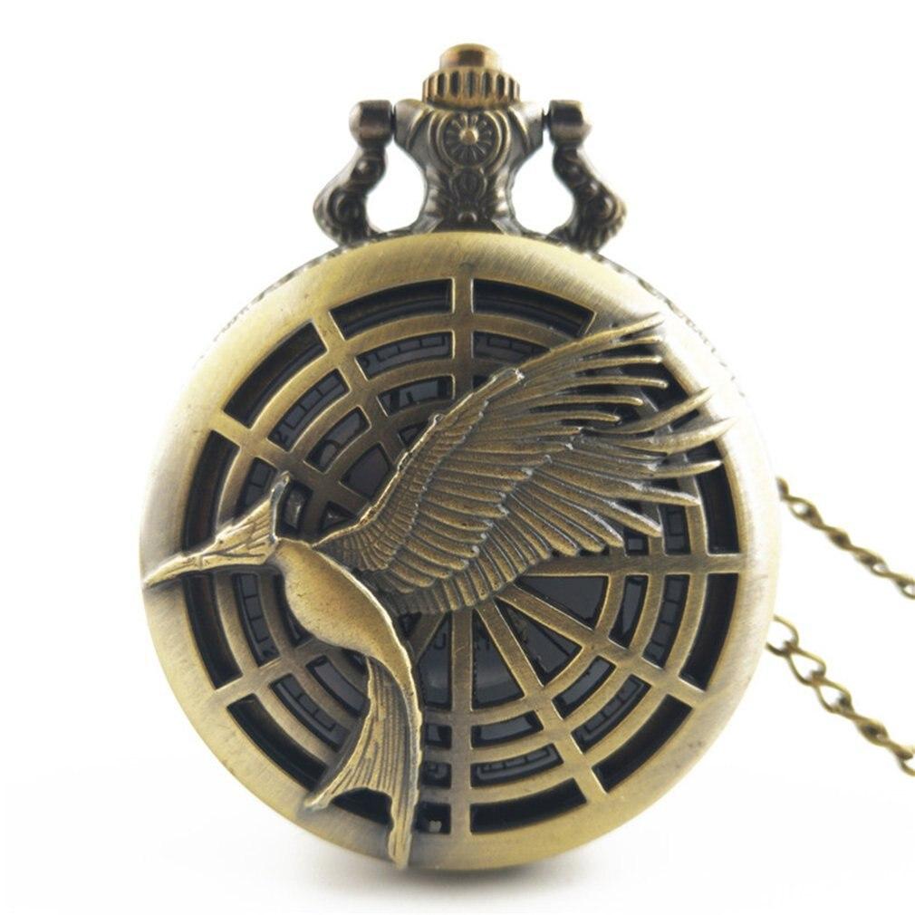 Fashion Men Women Quartz Pocket Watch Vintage Classic Owl Series Charm Unisex Necklace Pendant Watches Chain Best Family Gifts
