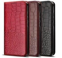 Textura de crocodilo caso couro luxo para huawei nova 2 3 3i 3e 4 plus CAN-L11 inteligente lite 2i gr3 2016 gr5 2017 carteira capa
