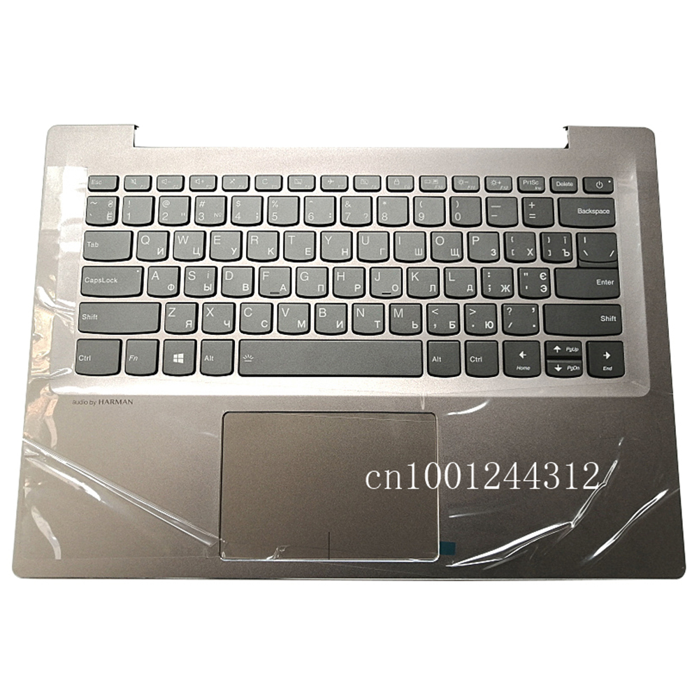 Russian New Original For Lenovo Ideapad 520S-14 520S-14IKB 7000-14 Palmrest Upper Case Keyboard Bezel Cover Grey 5CB0P26563