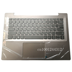 Russian New Original For Lenovo ideapad 520S-14 520S-14IKB 7000-14 Palmrest Upper Case Keyboard Bezel Cover Grey 5CB0P26563