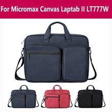 For Micromax Canvas Laptab Ii Lt777w Laptop shoulder Bag tablet