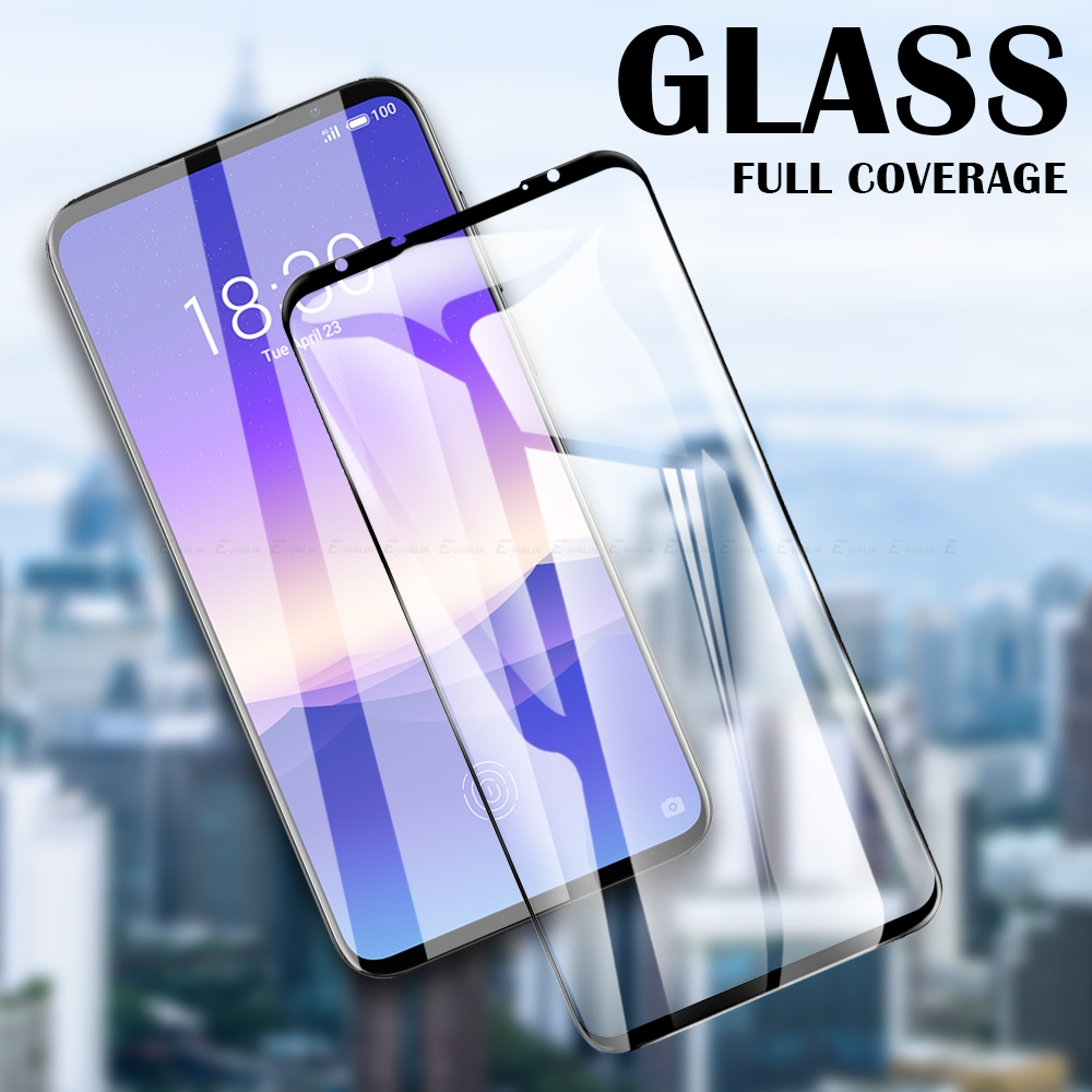 For <font><b>Meizu</b></font> 17 16th 16Xs 16s <font><b>Pro</b></font> 16T <font><b>16</b></font> X 15 Plus Lite Tempered Glass Screen Protector Full Cover Protective Glass Film image