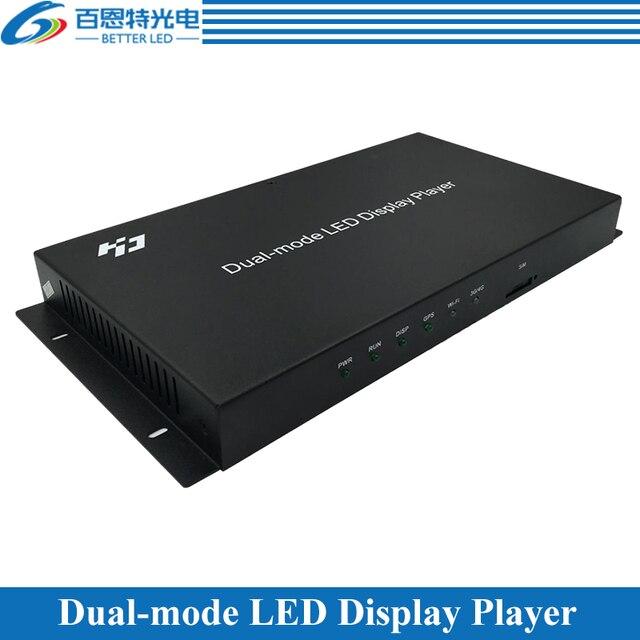 Huidu HD A4 A5 A6 WIFI kolorowy wyświetlacz LED dwufunkcyjny synchroniczny i asynchroniczny system sterowania
